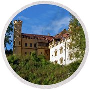 Holenschwangau Castle 3 Round Beach Towel