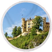 Holenschwangau Castle 5 Round Beach Towel