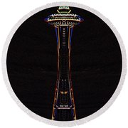 Holiday Needle 3 Round Beach Towel
