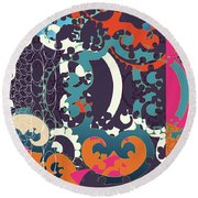 Holiday Round Beach Towel