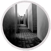 Holocaust Memorial Two Round Beach Towel