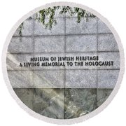 Holocaust Museum Of Jewish Heritage Ny Round Beach Towel