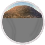 Holy Land - Mount Tabor Round Beach Towel