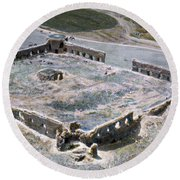 Holy Land: Caravansary Round Beach Towel