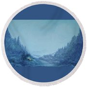 Home And Hearth 3 Round Beach Towel