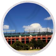 Home Of The Texas Rangers Round Beach Towel