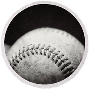 Home Run Ball II  Round Beach Towel
