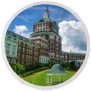 Homestead Omni Hotel Round Beach Towel