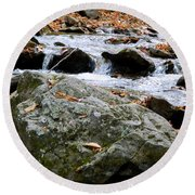 Hometown Series - Blue Ridge Parkway  Round Beach Towel