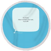 Honest One Round Beach Towel