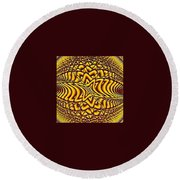 Honeycomb Round Beach Towel