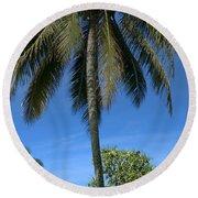 Honomaele Kahanu Gardens Hale O Piilani Ulaino Hana Maui Hawaii Round Beach Towel