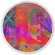 Hope And Dreams Round Beach Towel