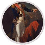 Horatio Nelson - Viscount Nelson Round Beach Towel