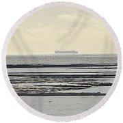 Horizon Round Beach Towel