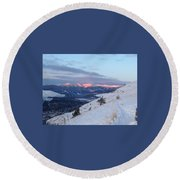 Horizon Light Round Beach Towel