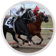 Horse Power 10 Round Beach Towel