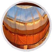 Hot Air Ballon 5 Round Beach Towel