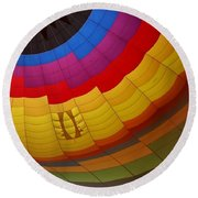 Hot Air Balloon Round Beach Towel