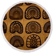 Hot Seats Round Beach Towel
