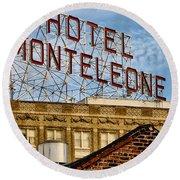 Hotel Monteleone - New Orleans Round Beach Towel