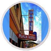 Hotel Motel Round Beach Towel