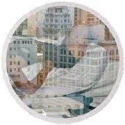 Hotel Phelan Reflection Round Beach Towel