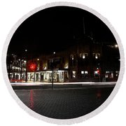 Hotel Stayne And Manly Round Beach Towel