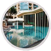 Hotel Swimming Pool Round Beach Towel