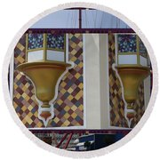 Hotel Taj Palace Atalantic City Wall Decorations Photography By Navinjoshi At Fineartamerica.com   Round Beach Towel