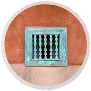 House Of Zuni Round Beach Towel