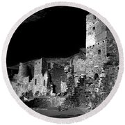Houses Of The Holly Round Beach Towel