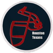 Houston Texans Retro Round Beach Towel