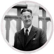 Howard Florey, Pathologist, Nobel Round Beach Towel