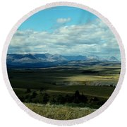 Hudson Bay Divide, From Looking Glass Round Beach Towel