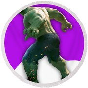 Hulk Collection Round Beach Towel