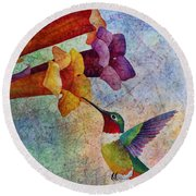 Hummer Time Round Beach Towel