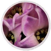 Hyacinth Round Beach Towel