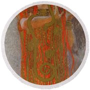 Hygieia Round Beach Towel
