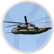 Iaf Sikorsky Ch-53 Helicopters Round Beach Towel