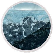 Ice And Rock Round Beach Towel