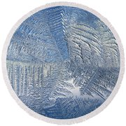 Ice Galore Round Beach Towel
