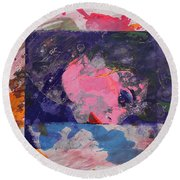 Iconoclasm 4 Round Beach Towel
