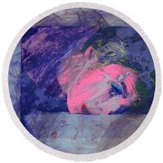 Iconoclasm Round Beach Towel