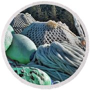 Icy Gear Hdr Round Beach Towel