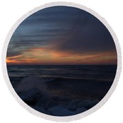 Icy H2o 4 Round Beach Towel