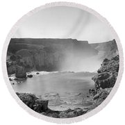 Idaho: Snake River Canyon Round Beach Towel