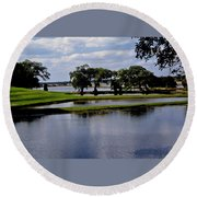 Charleston South Carolina Round Beach Towel