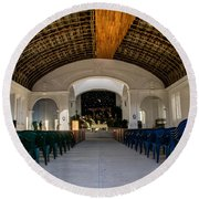 Iglesia San Andres Apostol - Apaneca 11 Round Beach Towel