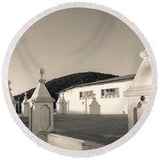 Iglesia San Andres Apostol - Apaneca 17 Round Beach Towel